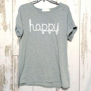 🍁 Happy Graphic tee
